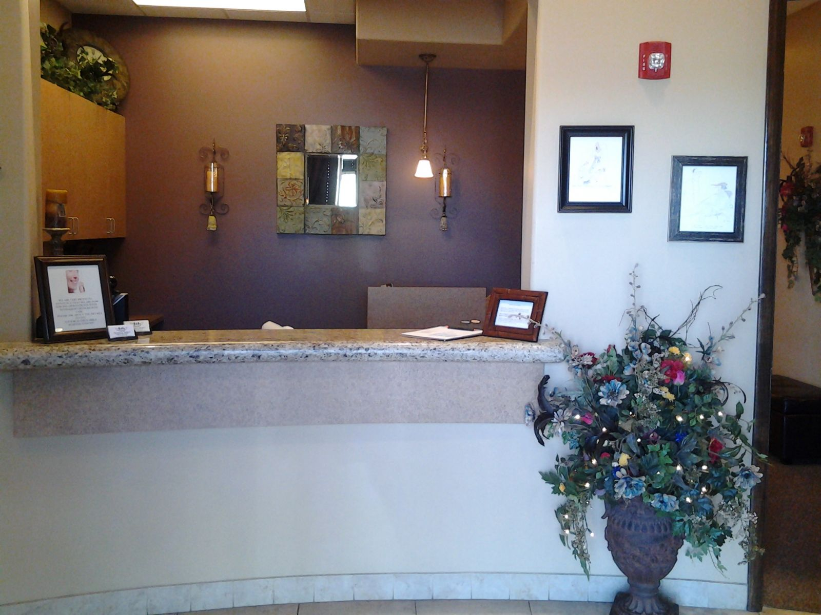 Dentist Office Reception Area San Tan Valley Queen Creek AZ